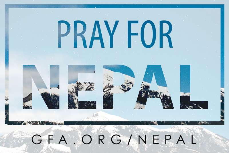Pray for Nepal Image