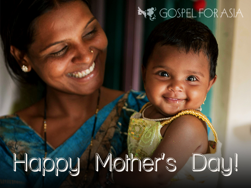 Mother's Day Blogging Assignment Gospel for Asia