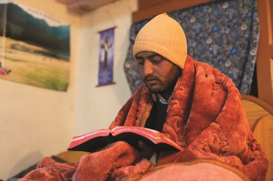 """Frigid temperatures and harsh climates can't stop Jesus' love from flowing out of national pastors. But a simple gift of a blanket helps the """"hands and feet of Christ"""" stay warm and protected so they can minister to people around them!"""