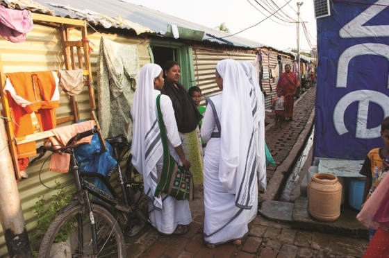 Sisters of Compassion working in Asian slums bring hopeful light into what are otherwise deeply depressing places. Lonely, hurting people are uplifted and renewed by friendship with the sisters and with the Friend who heals their hearts.