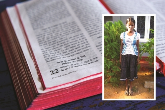 Through reading her Bible, Jenya gained a steadfast faith that Jesus could heal her crippled father—and her faith became sight.