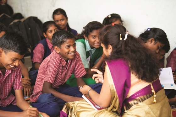 Through GFA's Bridge of Hope Program, Selvan, like the boy pictured, has received opportunities never before possible.
