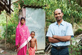 For Sailik and many other families in Asia, an outdoor toilet facility such as this one is a treasured gift.