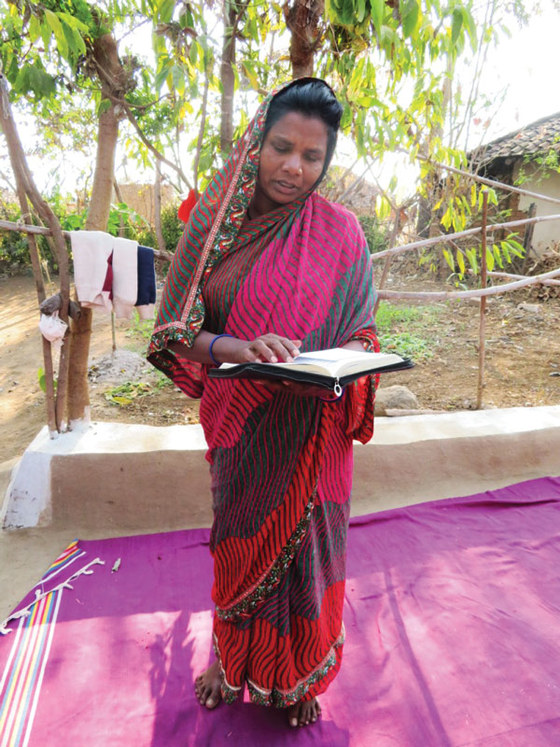 Somya's life was burdened by illiteracy, until she discovered the opportunity to attend a free literacy class. After persistent effort, she now proudly reads her Bible!