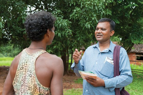 Through prayer, reading God's Word or even sharing practical advice, GFA-supported pastors demonstrate Christ's care for each area of people's lives. Ajay (not pictured) was greatly impacted by following a pastor's advice to see a doctor.