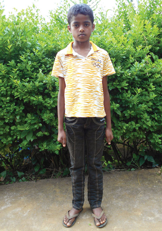 Harshal (pictured) was welcomed into Bridge of Hope, where he received nourishing food, school supplies, tutoring and encouragement to reach his full potential.