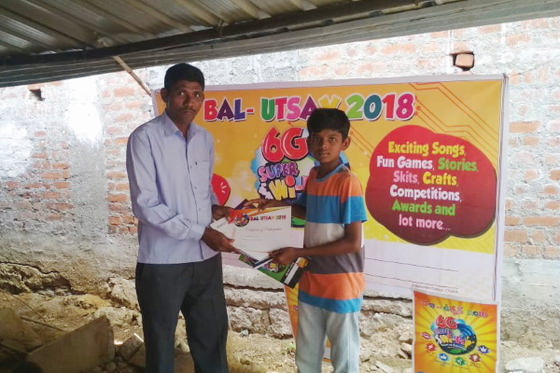 Vacation Bible School presents children like Rayan with a weeklong chance  to just be kids—singing, dancing, colouring, eating snacks, and learning about the love of Jesus through it all.