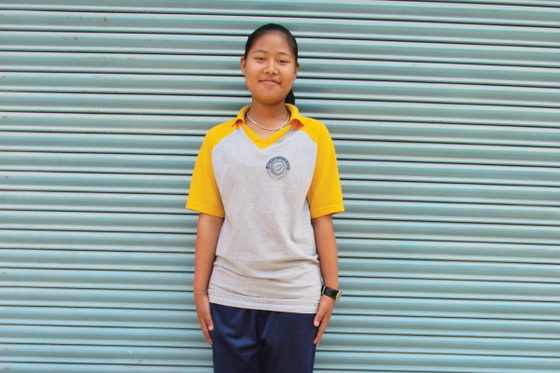 Although Ishya (pictured) was solely responsible for running her family's household from age 11, she received the opportunity to pursue education and a bright future through attending Bridge of Hope.