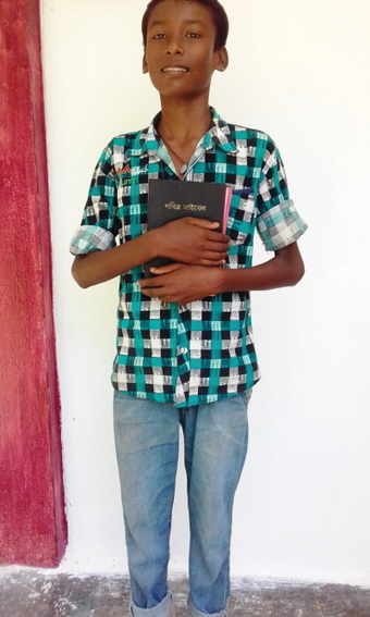 The life of Aman (pictured) was transformed after he encountered Christ's love.