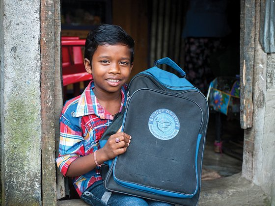 Many impoverished parents grieve that they are unable to supply their children with the necessary supplies to go to school—and to gain a brighter future. Bridge of Hope meets these needs for thousands of children.