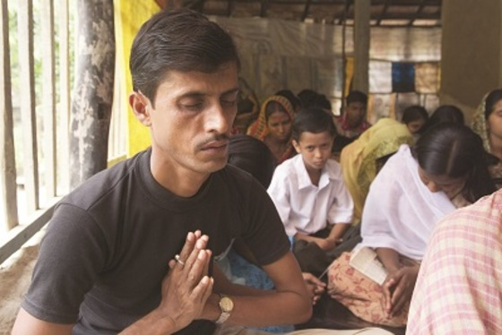 """Jaiman (not pictured) had no peace in his life as he went from place to place trying to find out who God was. Then the Lord led Jaiman to a GFA-supported pastor who was able to point him in the right direction. Now, he says he has """"marvellous peace in his heart"""" because of Jesus."""