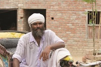 This is Jobi Masih with his rickshaw. Like Bakool, in the story below, Jobi struggled with alcohol and hopelessness until Jesus transformed his heart. After finding Jesus, both men labored hard—yet unsuccessfully—to provide for their families.