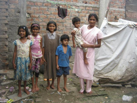Sitara and her five children