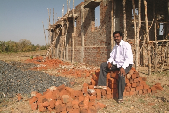 Many individuals, like this GFA-supported worker, greatly desire to see churches built so people can worship God freely.