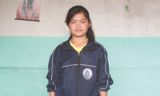 """""""I am very happy to be in this center,"""" Dhanya (pictured) shares. """"I am learning useful things."""""""