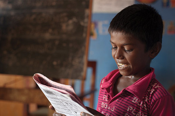 Bridge of Hope is helping thousands of children, like the boy from Sri Lanka pictured here, and like Yunay, to gain confidence and work toward their aspirations.