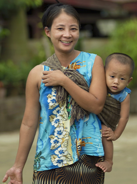 Women in Asia, like Maret and the woman pictured, face many different challenges in raising their families, but God is using GFA workers to bring them hope.