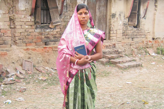 <p>After months of health and marriage problems, Basea (pictured) and her husband found deliverance and peace through Christ.</p>