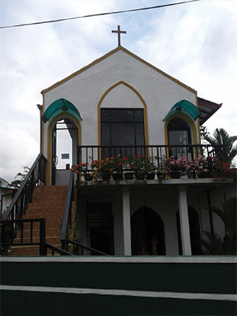 <p>Kailea and Peony experienced a warm welcome and a long-awaited relief when they visited this church, where Pastor Kagan ministers.</p>