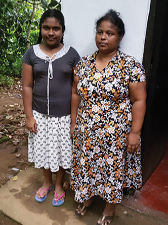 <p>Kailea and Peony (pictured) still experience difficulties, but Jesus has given them joy and strength to overcome the shame that once burdened them.</p>