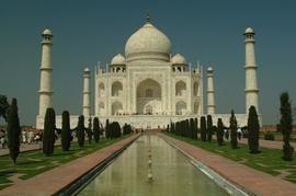 The Taj Mahal, one of the seven wonders of the world, is in the Bareli Region of Uttar Pradesh.