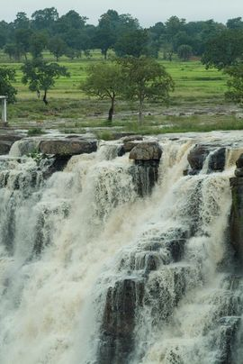 This majestic waterfall is one of the many tourist attractions in Chhattisgarh's Bastar Region.