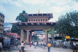 The city of Jaigaon is the gateway to the neighboring country of Bhutan.