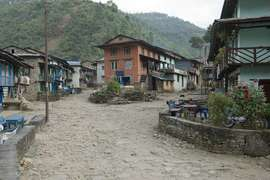 Picturesque villages like this one are found throughout the Central Nepal Region.