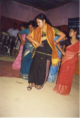 The people of Manipur love to dance.