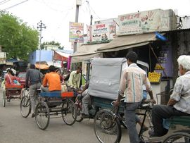 Thousands of rickshaw operators in Uttar Pradesh barely earn enough to feed their families.