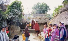 The Santals are a prominent tribe in the Malda Region.