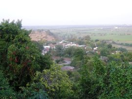 The North Central Madhya Pradesh Region includes both forested hills inhabited by tribals and flat plains where the majority of the people are farmers.