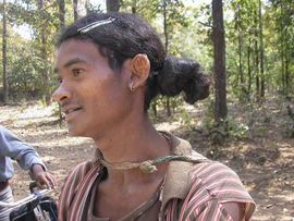 This man is from the Baiga tribe.