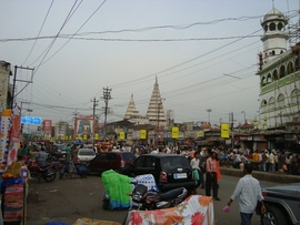 Patna is Bihar's capital city. It is densely populated, which creates a lot of traffic congestion.