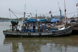 Fishing is one of the major industries in Goa.
