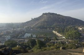 Located in the South Karnataka Region, Shravanabelagola is an important pilgrimage site for the Jain religion.