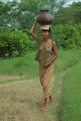 Many of the people in the South Myanmar Region live in rural villages, where life has changed very little for centuries.