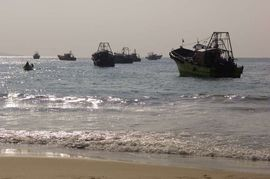 Many in the South Tamil Nadu Region make a living as fishermen.