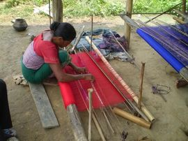 Many people in the Tinsukia Region still produce handcrafted items using centuries-old methods.