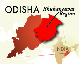 The Bhubaneswar Odisha Region
