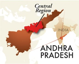 The Central Andhra Pradesh Region