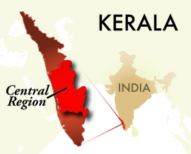The Central Kerala Region