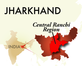The Central Ranchi Jharkhand Region