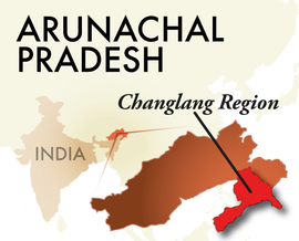 The Changlang Arunachal Pradesh Region