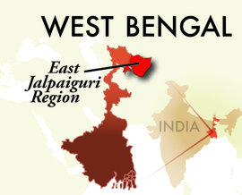 The East Jalpaiguri Jaigaon Region