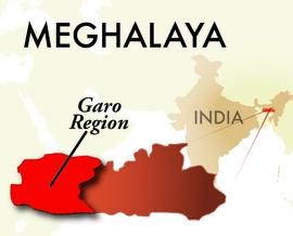 The Garo Meghalaya Region