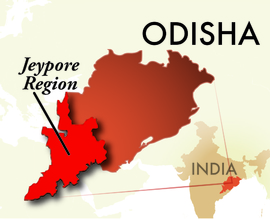 The Jeypore Odisha Region