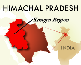 The Kangra Himachal Pradesh Region