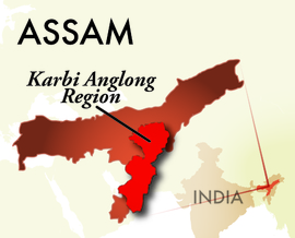 The Karbi Anglong Assam Region