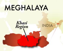 The Khasi Meghalaya Region